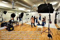 Our portable studio at a dance studio