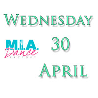 Wednesday April 30
