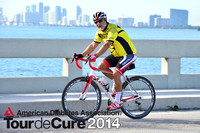 Examples of Finished Prints With Tour de Cure 2014 Logo